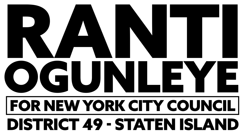 Black Ranti Ogunleye logo